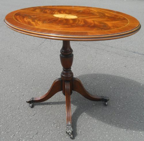 Oval Pedestal Coffee Table: Coffee Tables, Furniture, Round Table, Living Room